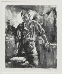 Michael Buesking - Drawing Jerusalem - with permission