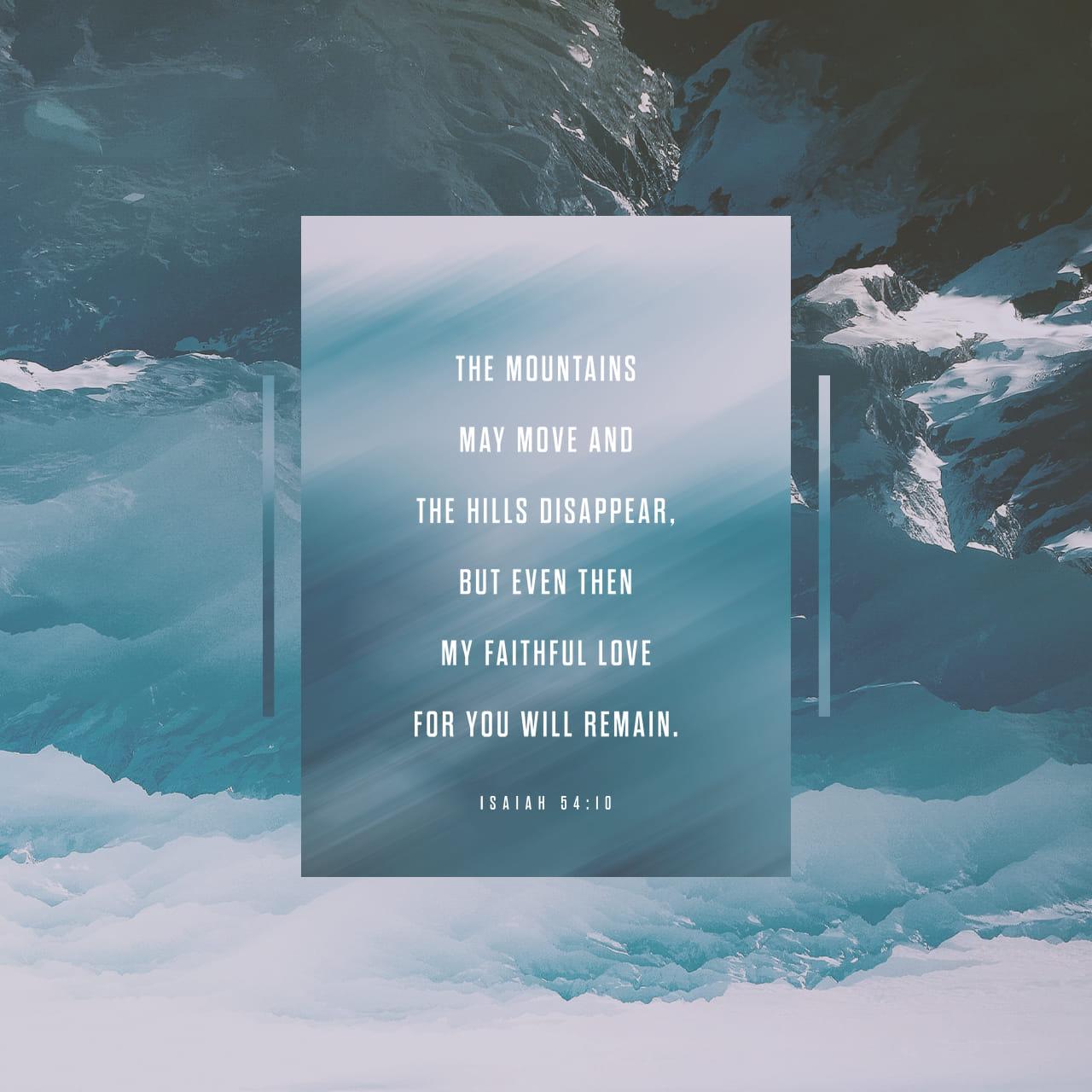 Jesaja 54:10